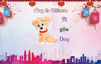 How to say Dog in Chinese